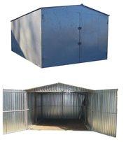 металевий гараж швидкозбірний з металу