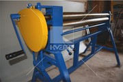 Трехвалковые вальцы для металла Maad ZW 1300/1, 5