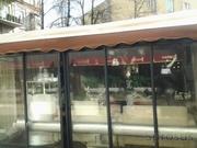 Фасадне безрамне скління офісів, ресторанів, кафе, альтанок, балконів